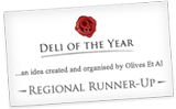Deli of the year 2011 regional runner up
