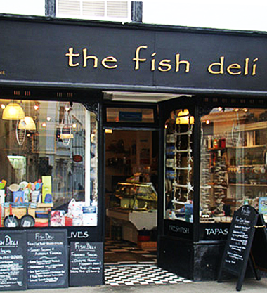 fish deli shop front