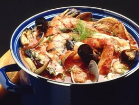 Breton Style Bouillabaisse with Chargrilled Fennel