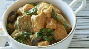 Coconut & Lime Fish Curry